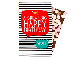 a great big happy birthday chocolate gift card happy jackson