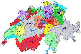 bundesländer nach fläche die 26 kantone der schweiz