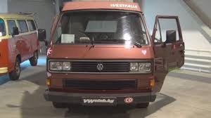 volkswagen vanagon 1987 volkswagen transporter t3 westfalia 1987 exterior and interior