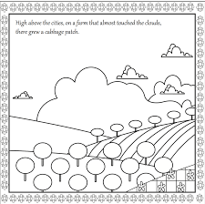 joey u0027s cabbage patch coloring book