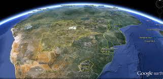 Botswana Map Botswana Map