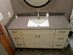 Onyx Sink Onyx Vanity Top Single Hole Faucet Wave With White Bowl Inset