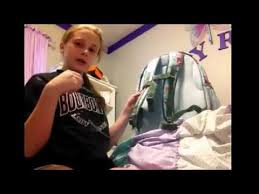 Pottery Barn Mackenzie Backpack Review Pbteen Backpack Review Youtube
