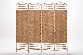 canvas room divider folding room dividers 4 panel solid wood screens room dividers 4