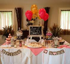 bridal decorations best 25 gold bridal showers ideas on simple bridal