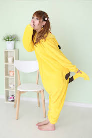 Woman Monster Halloween Costume by Aliexpress Com Buy New Pikachu Onesies Animal Cosplay