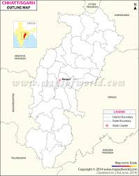 Outline Map Of India by Outline Map