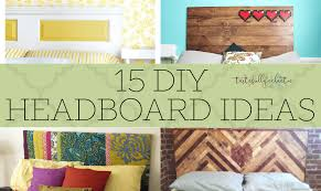 15 diy headboards