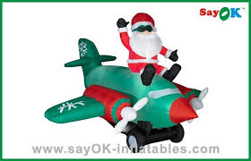 Blow Up Lawn Decorations Large Inflatable Santa Claus Outdoor Blow Up Christmas Decorations