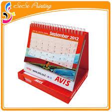 Desk Calendar With Stand Easel Desk Calendar Easel Desk Calendar Suppliers And