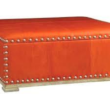 ottoman orange storage ottoman round orange storage ottoman