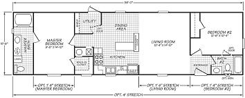 Split Floor Plan by Connolly Floor Plan Mobile Homes Virginia U0026 Pennsylvania