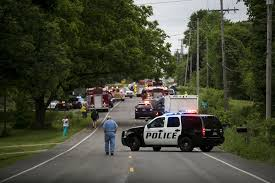 police report details pickup bicycle crash that killed 5 in