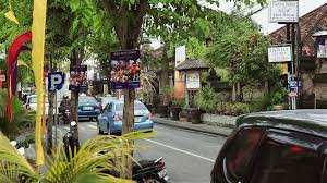 bali indonesia kuta seminyak traffic stock footage