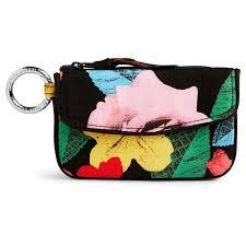 vera bradley home decor vera bradley jen zip id case in havana rose handbags u0026 purses