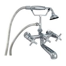 wallmount leg tub faucets