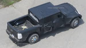 jeep wrangler pickup black jeep wrangler pickup spy photos motor1 com photos