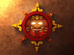ancient aztec sun god by nelson fraga dribbble