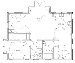 Draw Floor Plans Draw Floor Plan Step 7 Tegn In Elsymboler Og Belysning Bruk