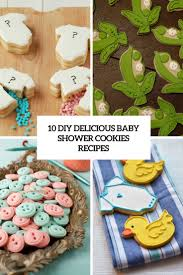 10 diy delicious baby shower cookies recipes shelterness