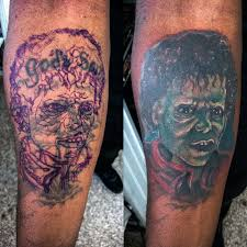 tattoo cover up on black skin michael jackson zombie thriller cover up on dark skin tone inked