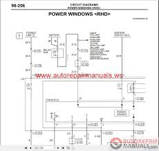 mitsubishi lancer ix 2006 wiring diagrams auto repair manual