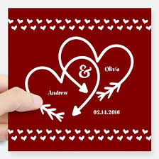 Save The Date Car Accessories Auto Stickers License Plates