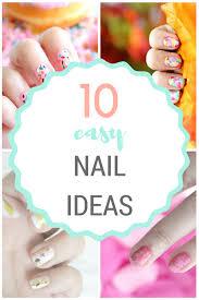 elle sees beauty blogger in atlanta 10 easy nail tutorials you