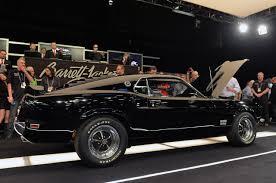 Black Mustang 1969 Barrett Jackson 2014 Original Unrestored 1969 Ford Mustang Boss