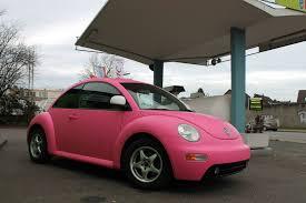pink convertible volkswagen pink vw beetle a joyful cliche autoevolution