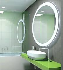 wall mirrors illuminated wall mirrors for bathroom medium size