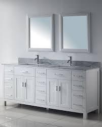 Discount Double Vanity For Bathroom Sofa Endearing White Bathroom Double Vanity 74b7e735dc91jpg