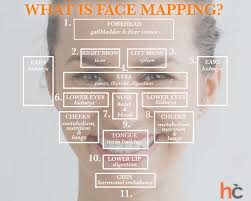Chinese Face Mapping What Is Face Mapping Infographic Skin Care Healthcentral