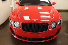 bentley red used 2010 bentley continental supersports stock p64405 ultra