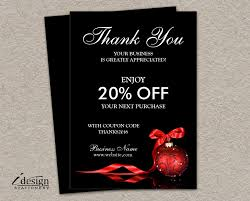 shipping insert cards printable thank you