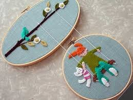Crafts For Home Decoration Ideas Creative Ways To Make Home Decorations With Embroidery Hoops