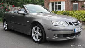 sold 04 saab 9 3 2 0t vector 150bhp convertible auto 2 owner