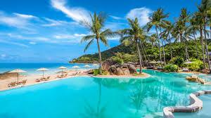 Poolanlagen Im Garten Sheraton Samui Resort In Chaweng Noi Beach U2022 Holidaycheck Koh