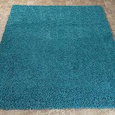 Aqua Area Rug Amazon Com Safavieh Milan Shag Collection Sg180 6060 Aqua Blue