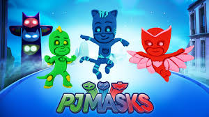 pj masks catboy owlette gekko play doh compilations learn