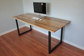 Diy Modern Desk Modern Desk Legs Ideas Greenville Home Trend Make Rounded