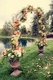 wedding arches branches ceremony willow branch wedding arch 2062587 weddbook