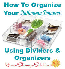 Bathroom Drawer Storage by Bathroom Drawer Organizer Ideas U0026 Solutions