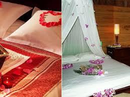 First Nite Room Decorations Hotel Honeymoon Room Decoration Honeymoon Room Ideas Pinterest