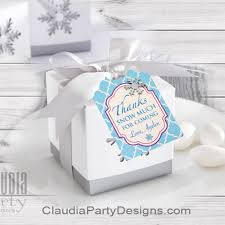 favor tags winter favor tags snowflake thank you tags frozen