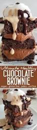 ultimate healthy chocolate brownie recipe vegan paleo and nut free