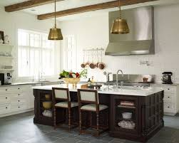 Kitchen With Brick Backsplash White Brick Backsplash Houzz