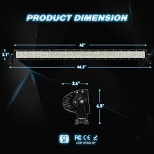 Led Light Bar Driving Lights by Amazon Com Led Light Bar Nilight 42 Inch 240w Led Work Light Spot