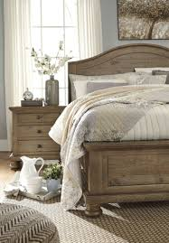 light brown panel bedroom set