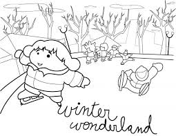 winter coloring sheets for pre k pages pdf page source free